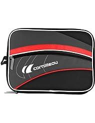 CORNILLEAU Unisex FITTCARE doble bate cubierta, negro, un tamaño