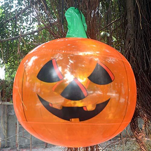 ETbotu Ballon für Halloween,Aufblasbarer hängender Yard-Einkaufszentrum-Bar-Party-Dekor Kürbis
