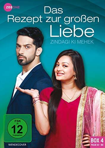Das Rezept zur großen Liebe - Zindagi Ki Mehek (Box 4, Folge 61-80) [3 DVDs]