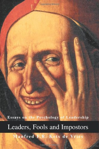 the leader psychological essays The psychology of the leader determines the actions of the leader (which, in large part, informs the success of the leader) this led me to build the integrated psychology of leadership model (ipol) - a blended approach that flexes with the corporate and leadership need.