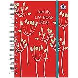 Organised Mum 2016 Family Life Book (Laufzeit ab sofort bis Dezember 2016) Wöchentlicher Familienplaner mit hilfreichen organisatorischen Funktionen in ENGLISCHER SPRACHE