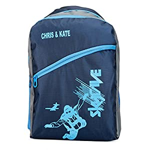 Chris & Kate Polyester 26Litres School Backpack