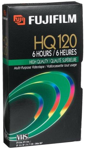 Fuji 23021121HQ t-120VHS Video Kassetten (Auslaufmodell)