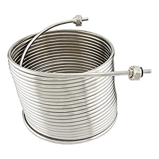 Stainless Steel Coil for Jockey Box - 50' Length by ABECO