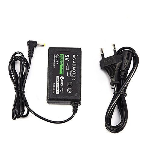 VBESTLIFE Ladegerät AC-Netzteil Netzkabel für Sony PSP 1000/2000/3000 (EU)