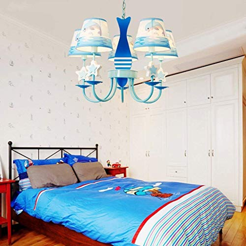 ZHYZN Sheen Ursprüngliche Kinder Cartoon Lounge Rosa Delphin Licht Licht Prinzessin Room Lighting...