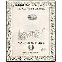 POIS Cornice per Foto Portafoto Argento Artigianale Made in Italy Foto ca.18x23 cm