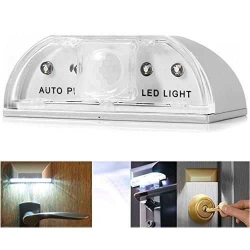 LED Schlüsselloch Licht , Keyhole Licht Lampe, Automatische LED-Türbeleuchtung mit PIR-Bewegungssensor (Licht Nicole 4)