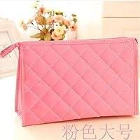 Wmshpeds version coréenne de cosmétiques sac brodé portable sac portable de stockage Voyage nylon imperméable emballage de produit cosmétique