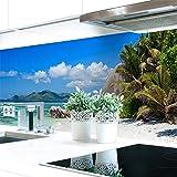 Küchenrückwand Strand Premium Hart-PVC 0,4 mm selbstklebend 280x60cm