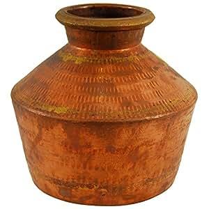 Devi Copper Pot, (8 cm x 40 cm)