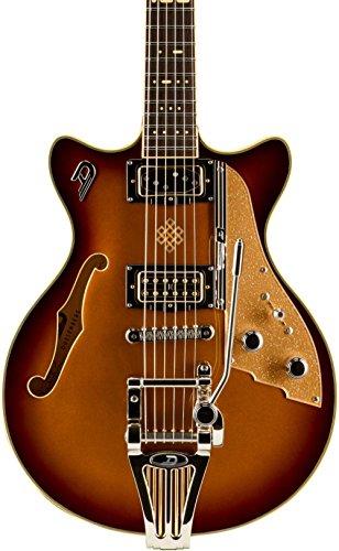 Duesenberg EE. UU. Alianza Joe Walsh Semi-Hollow guitarra eléctrica oro Burst