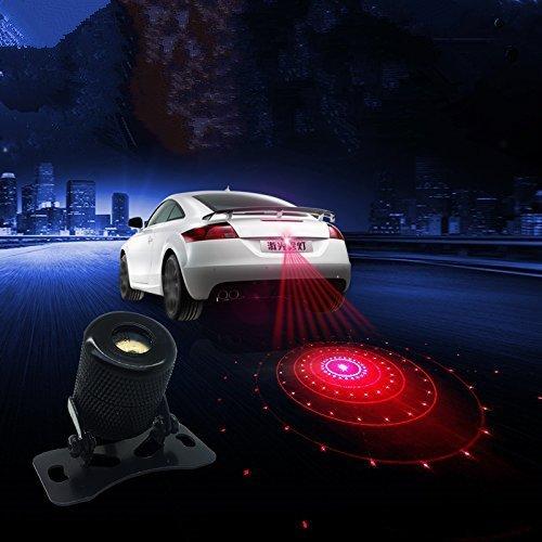 Cuzile anti-collisione rear-end Car Tail Fog Light auto moto freno parcheggio lampada allevamento spia di sicurezza allarme accessori modello 6