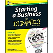 Starting a Business For Dummies[UK Edition] by Colin Barrow (2014-10-27)
