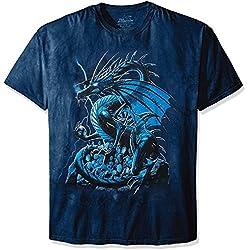 The Mountain Camesita Skull Dragon Fantasy Adulto Unisexo XL