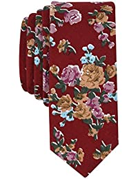Original Penguin Men's MILLARD FLORAL Accessory, -red, One Size