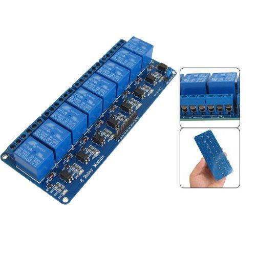 Produktbild 8-Kanal Relais Modul 5V / 230V Optokoppler 8-Channel Relay Arduino Raspberry Pi