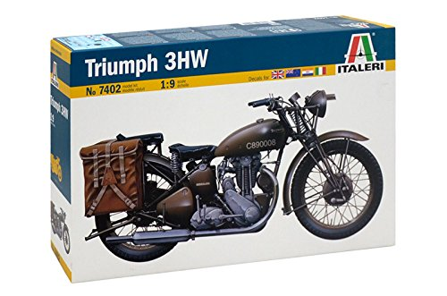 Italeri 7402 - triumph 3wh model kit scala 1:9