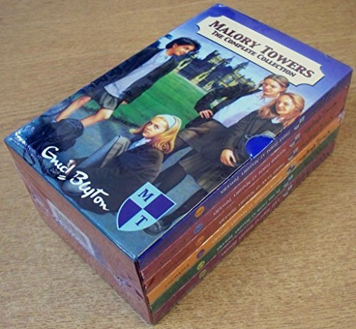 Malory towers the complete collection, six books in slipcase, last term, in the fifth, third year, second form, first term, upper fourth.