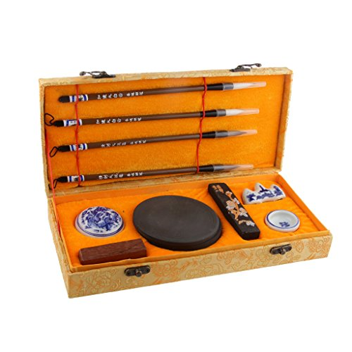 conjunto-de-herramientas-caligrafia-pluma-cepillos-y-piedras-de-tinta-caja-de-regalo