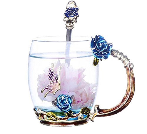 sql-impostare-cristallo-di-vetro-smalto-europeo-tazza-di-caffe-latte-cucchiaio-330ml