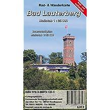 Bad Lauterberg: Rad- und Wanderkarte mit Innenstadtplan