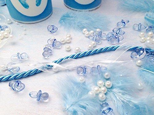 20 Personen Dekoset Zur Taufe Blau Baby Junge Geburt Shower