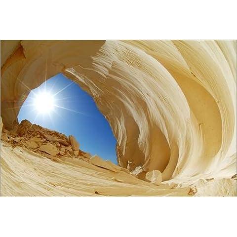 Stampa su tela 120 x 80 cm: Rock archway in Egypt di Moser / Science Photo Library - poster pronti, foto su telaio, foto su vera tela, stampa su tela
