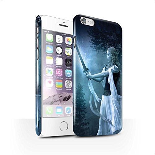 Officiel Elena Dudina Coque / Clipser Brillant Etui pour Apple iPhone 6 / Pack 9pcs Design / Super Héroïne Collection Épée Magique