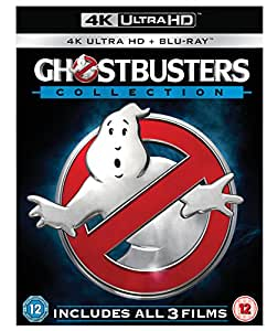 Ghostbusters - 1-3 Collection (6-Disc 4K Ultra HD + Blu-ray) [2016] [Region Free]