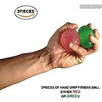 Preisvergleich für pedimendtm Egg Form Hand Bällen (2) | Squeeze Ball | Verbesserung Grip und Stärkung Finger & Palm Muskeln | Stress und Muskelverspannungen | Verletzungen Rehabilitation | verbessert Grip | für Herren und Damen