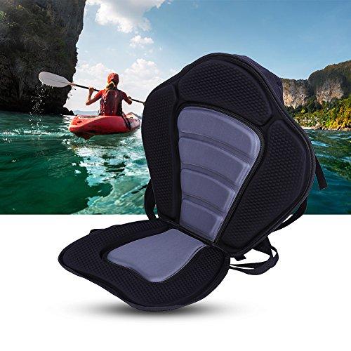 Tbest Kayak Sitzkissen Pad Gepolsterter Sitz mit Rückenstütze, Ocean Deluxe Komfort Kajak Sitz Sit...
