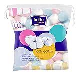 Bella Cotton Cosmetic Balls - 100 Pieces