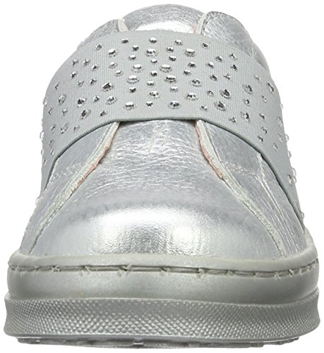 Unisa Mädchen Cali_md Low-Top Silber (Silver)