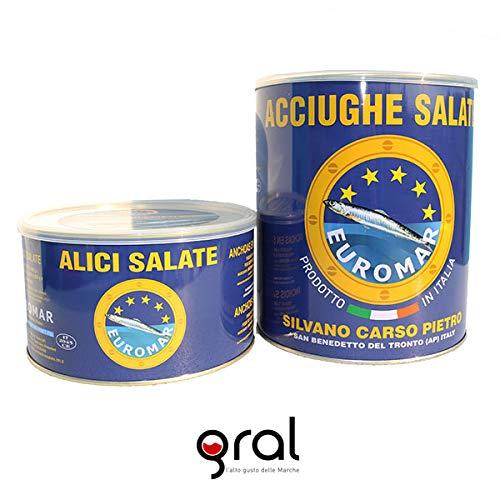 Acciughe Salate gr. 850 in scatola