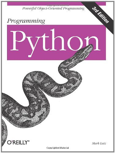 Programming Python by Mark Lutz (2006-09-02)