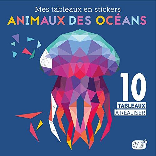 Mes tableaux en stickers - Animaux des océans