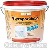 Pufas Styroporkleber      14,000 KG
