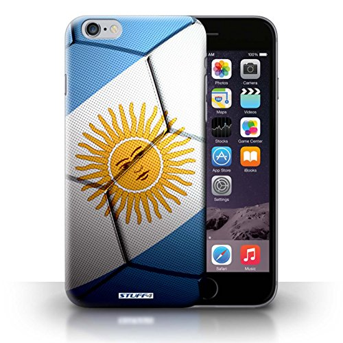 KOBALT® Hülle Case für iPhone 6+/Plus 5.5   England/Englische Entwurf   Fußball Nationen Kollektion Argentinien