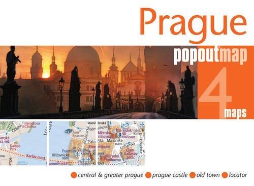 Prague Popout Map (Popout Maps)