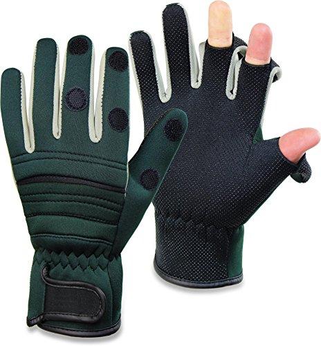 8 NEU TOP Winterhandschuhe Handschuhe Super Warm Fleecestoff Grün Hellgrün Gr