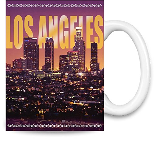 Los Angeles City Kaffee - Los Angeles-becher