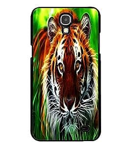 ColourCraft Tiger Look Design Back Case Cover for SAMSUNG GALAXY MEGA 2