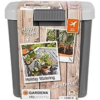 Gardena Riego automático de Vacaciones para regar hasta 36 macetas. con depósito. Set máximo Plantas, Estándar