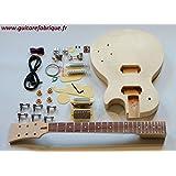 Guitare électrique en kit haut de gamme type Les Paul, France