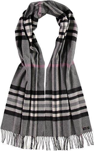 FRAAS Damen Schal 625030, Gr. One size, Grau (Mid Grey 960)