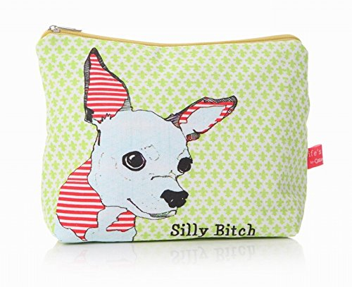 Shruti sadolikar Designs Lavage Sacs - de la vie une gamme Bitch - Silly Bitch