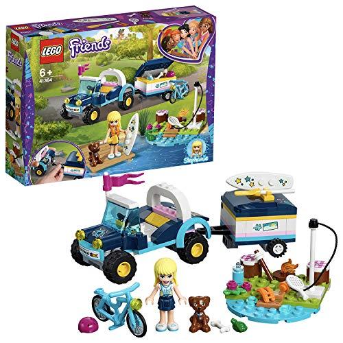 Lego 41364 Friends Stephanies Cabrio mit Anhänger, bunt