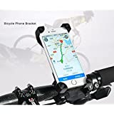 AlexVyan 360° Degree Rotate Adjustable Black Red Yellow( No Color Choice) Universal Bike Motorcycle Cycle Mount Holder for Phone Mobile Bicycle Handlebar Mobile Phone Holder Cradle Clamp with 360 Rotation for 3.5 to 6.5 inch Apple iPhone Samsung Sony Moto LG HTC Vivo Oppo MI Honor Redmi Lenovo Micromax Motorola Nokia Xiaomi Jio All type of Android Smartphone GPS Other