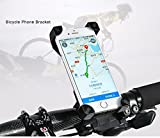 #7: AlexVyan 360° Degree Rotate Adjustable Black Red Yellow( No Color Choice) Universal Bike Motorcycle Cycle Mount Holder for Phone Mobile Bicycle Handlebar Mobile Phone Holder Cradle Clamp with 360 Rotation for 3.5 to 6.5 inch Apple iPhone Samsung Sony Moto LG HTC Vivo Oppo MI Honor Redmi Lenovo Micromax Motorola Nokia Xiaomi Jio All type of Android Smartphone GPS Other